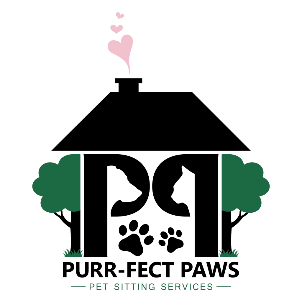 Purr-fect Paws Pet Sitting Services  Logo