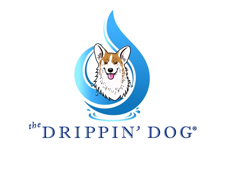 The Drippin' Dog Logo