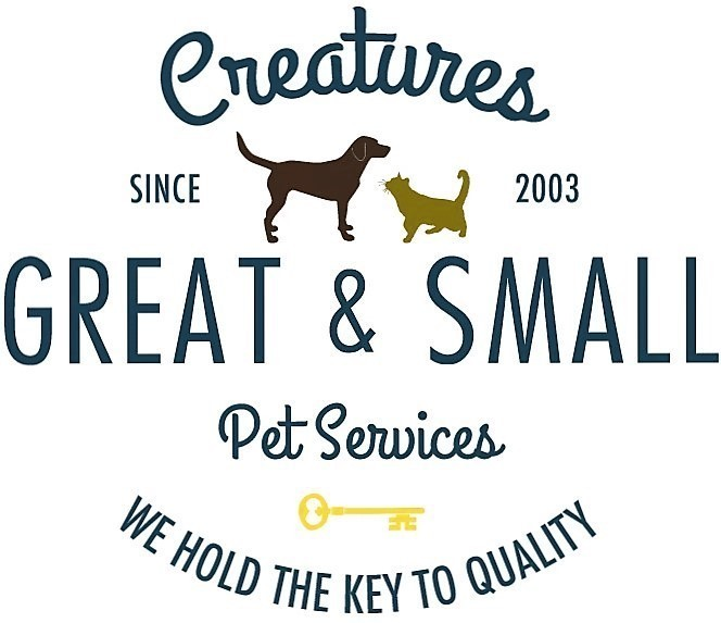 Creatures Great & Small Pet Services Logo