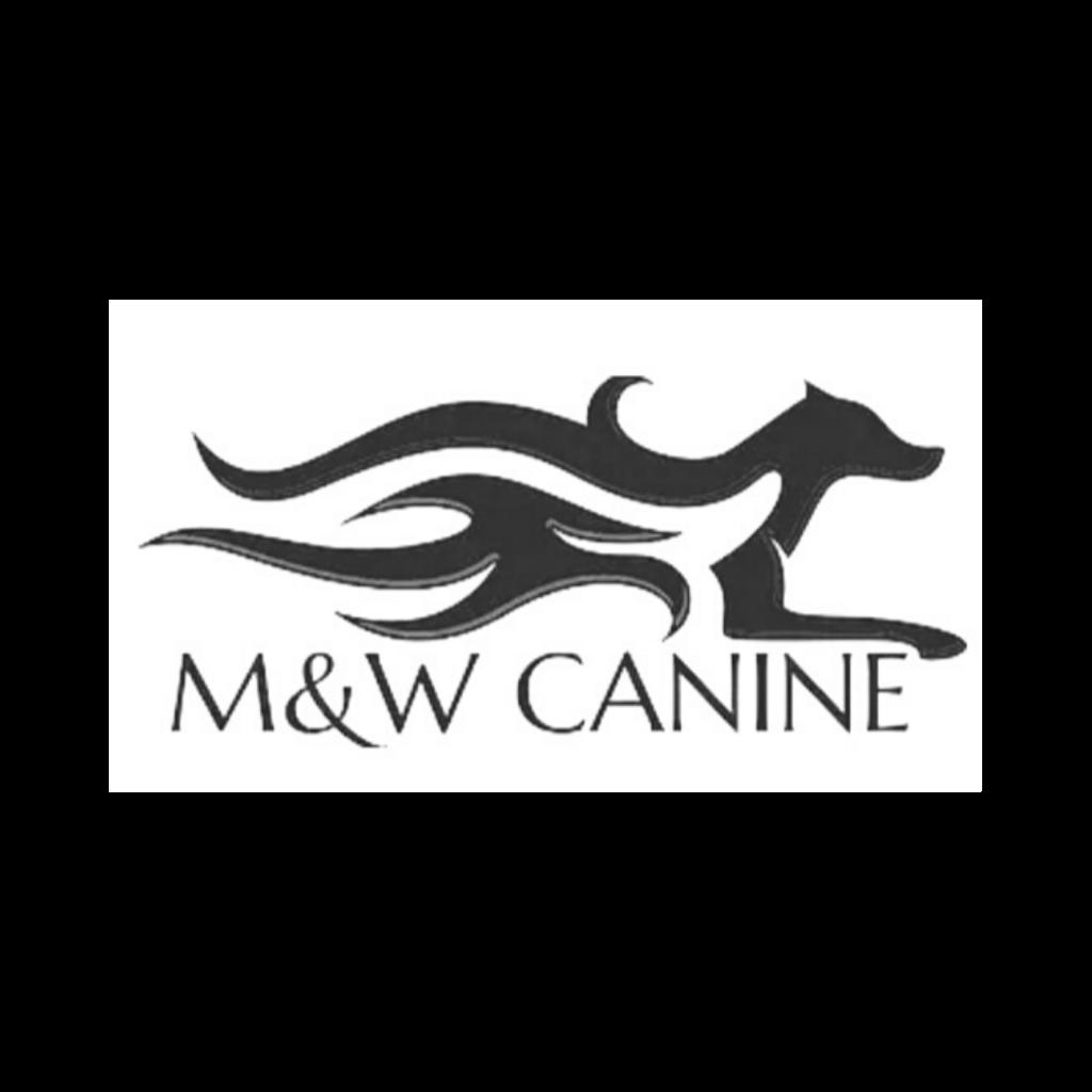 M&W Canine Logo