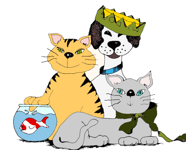 Reigning Cats & Dogs, Inc. Logo