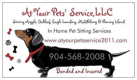 At Your Pets' Service LLC Logo
