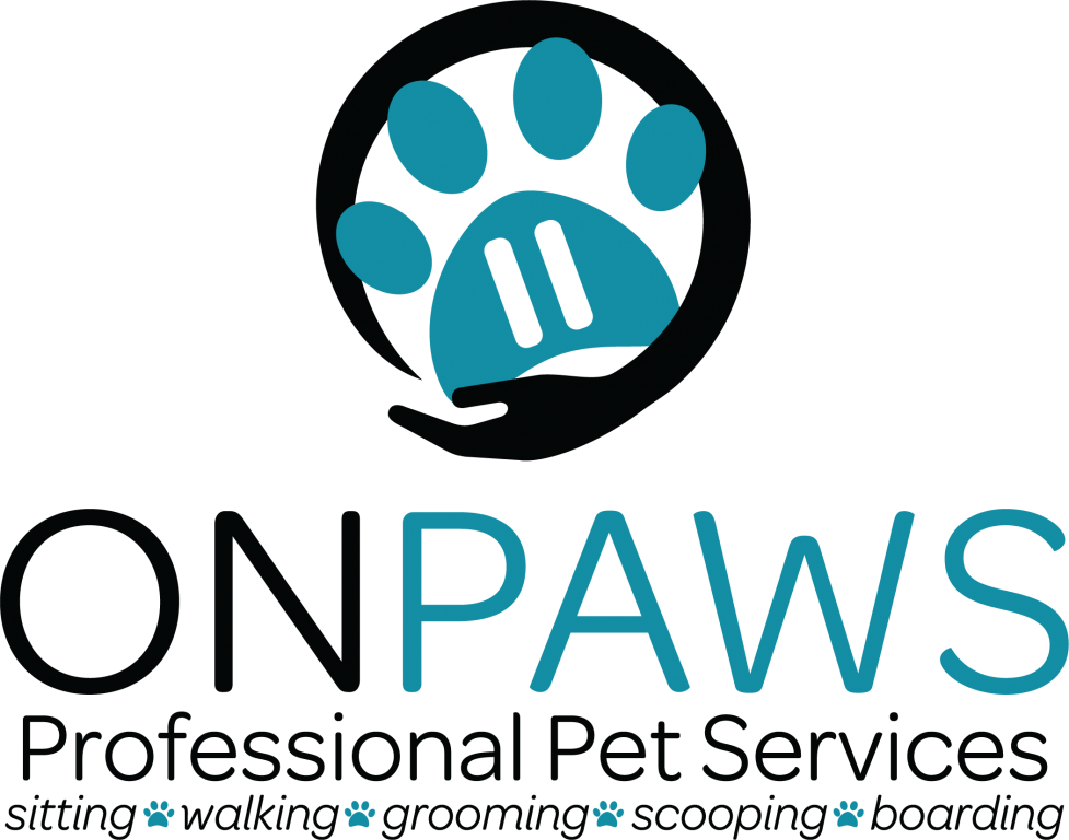 On Paws Professional Pet Services Logo