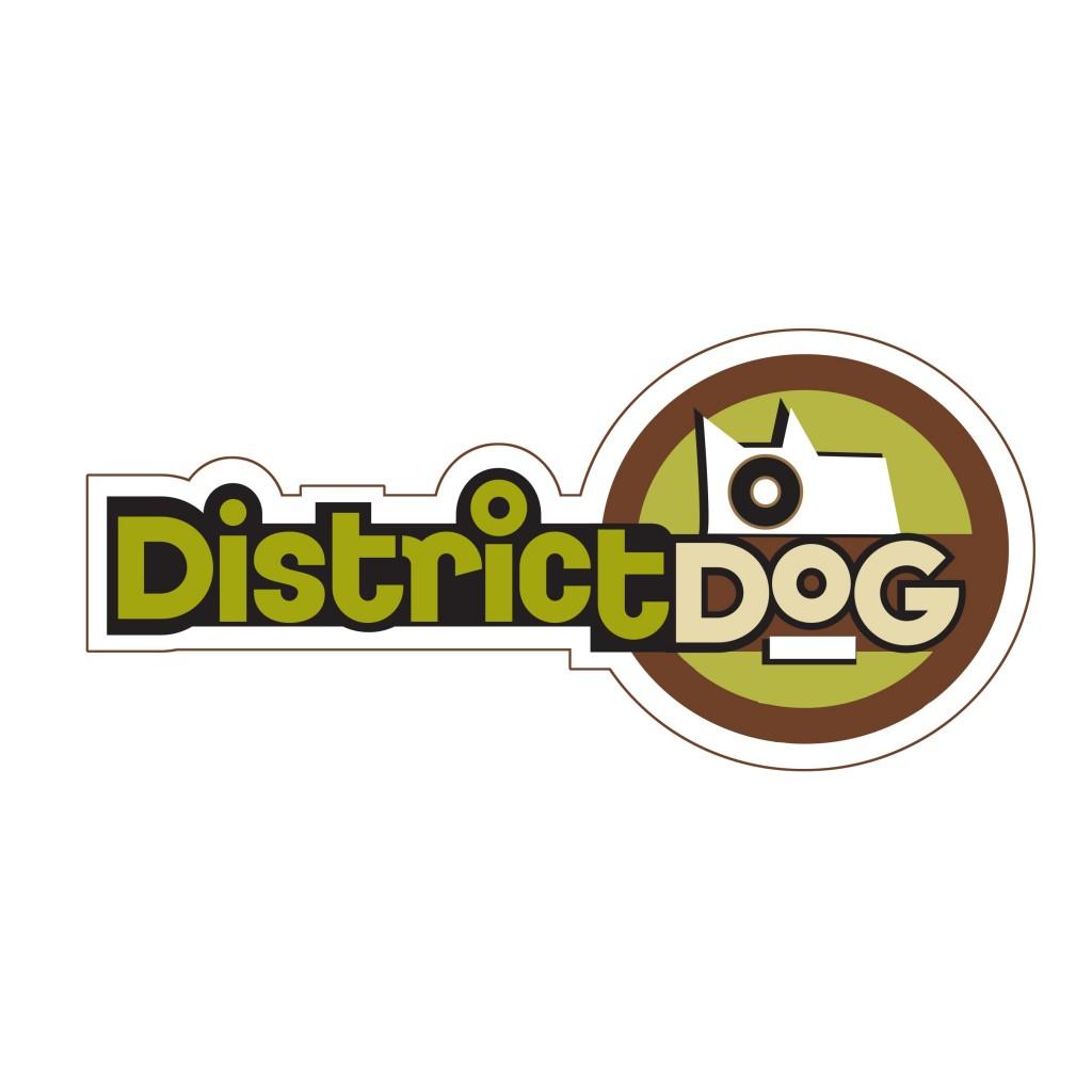 District Dog Logo