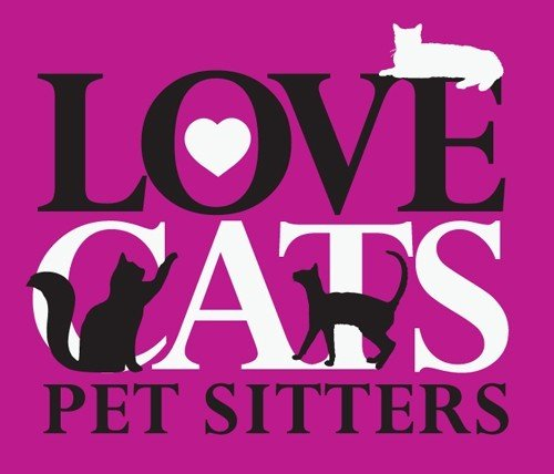 Love Cats Pet Sitting Logo