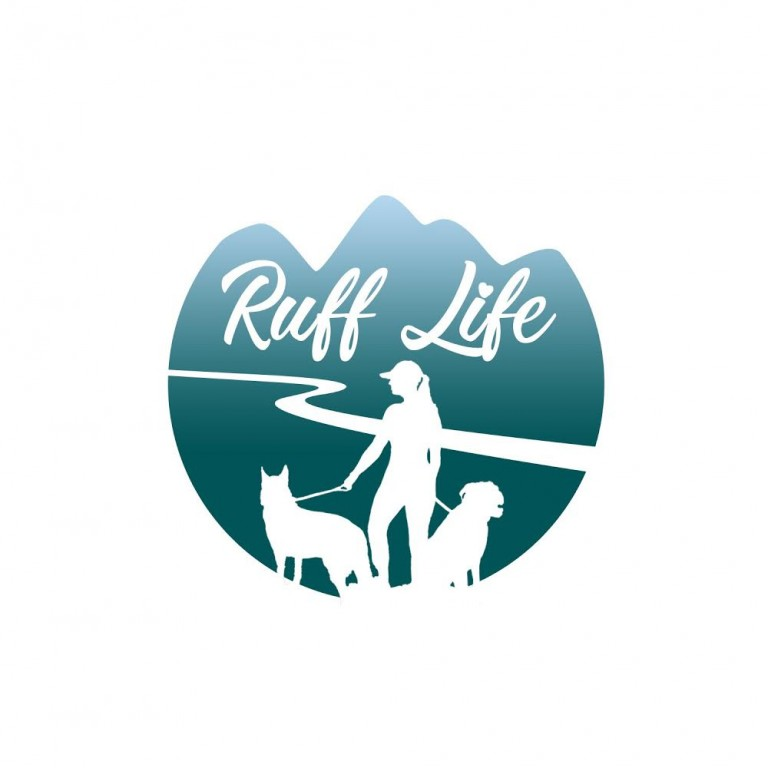 Ruff Life Dog Walking and Pet Sitting Logo