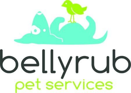 BellyRub Pet Services Logo