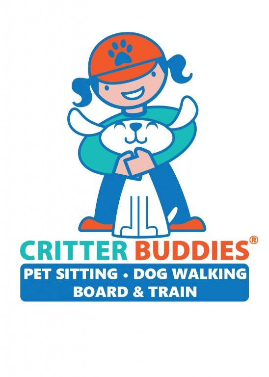 Critter Buddies Pet Sitting & Dog Walking Logo