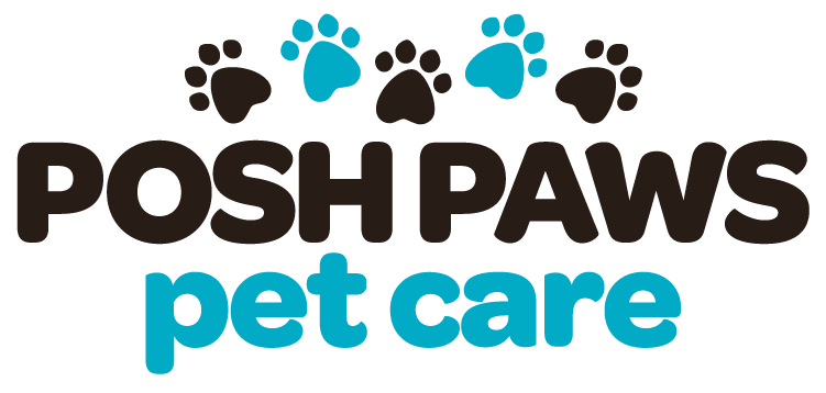 Posh Paws Pet Care Logo