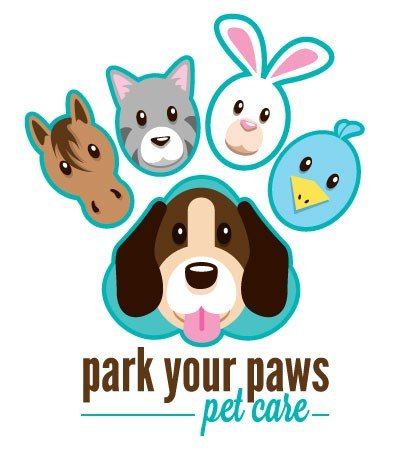 Park Your Paws Pet Care Logo