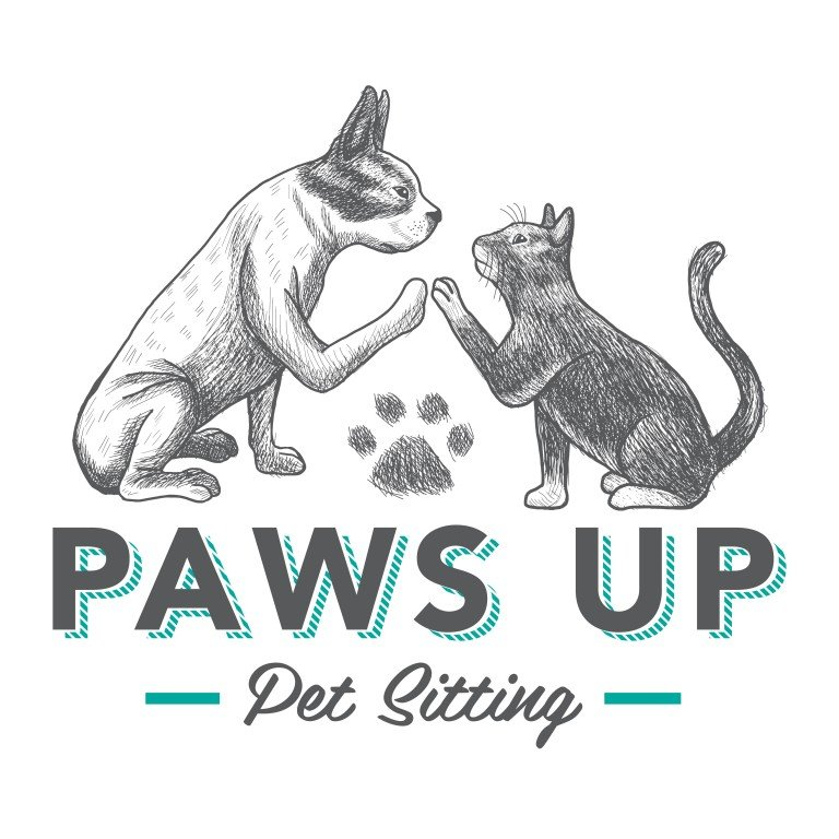 Paws Up Pet Sitting Logo