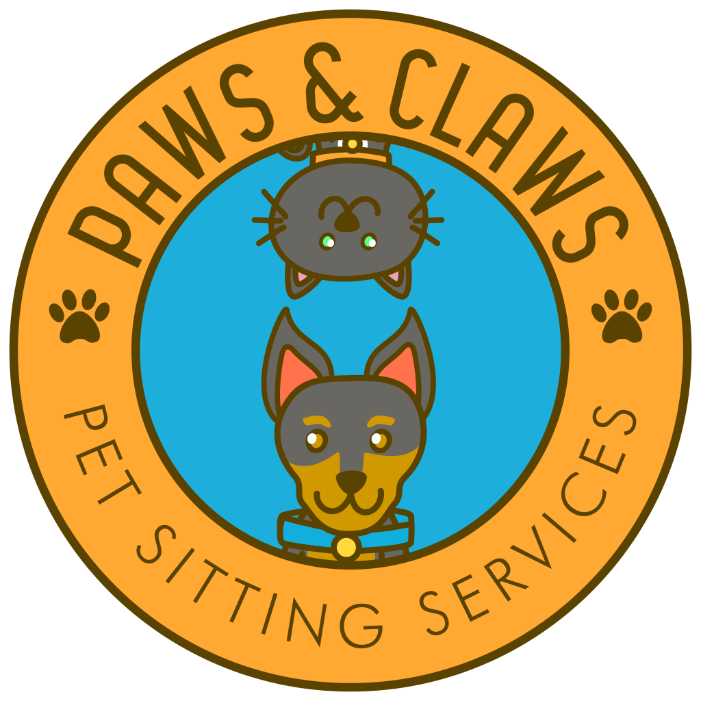 Paws & Claws Pet Sitting and Dog Walking Services Logo