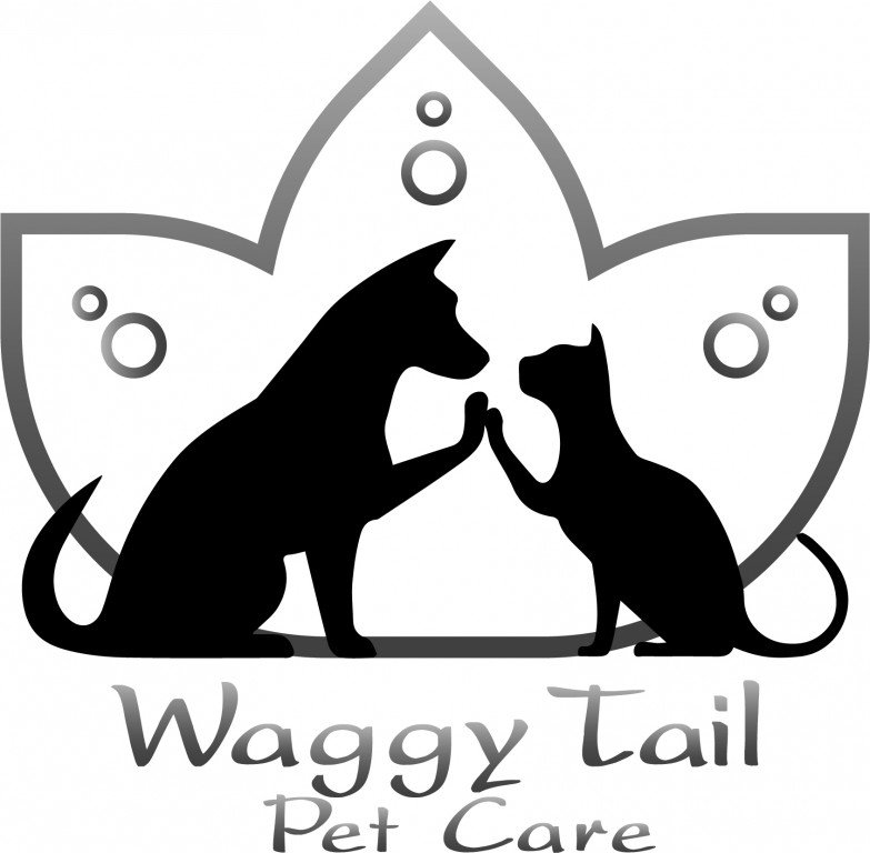 Waggy Tail Pet Care LLC Logo