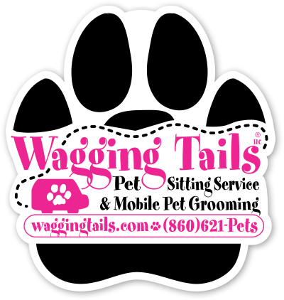 Wagging Tails Pet Sitting & Mobile Grooming LLC Logo