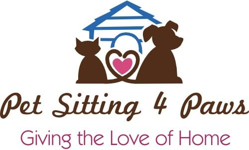 Pet Sitting 4 Paws Logo