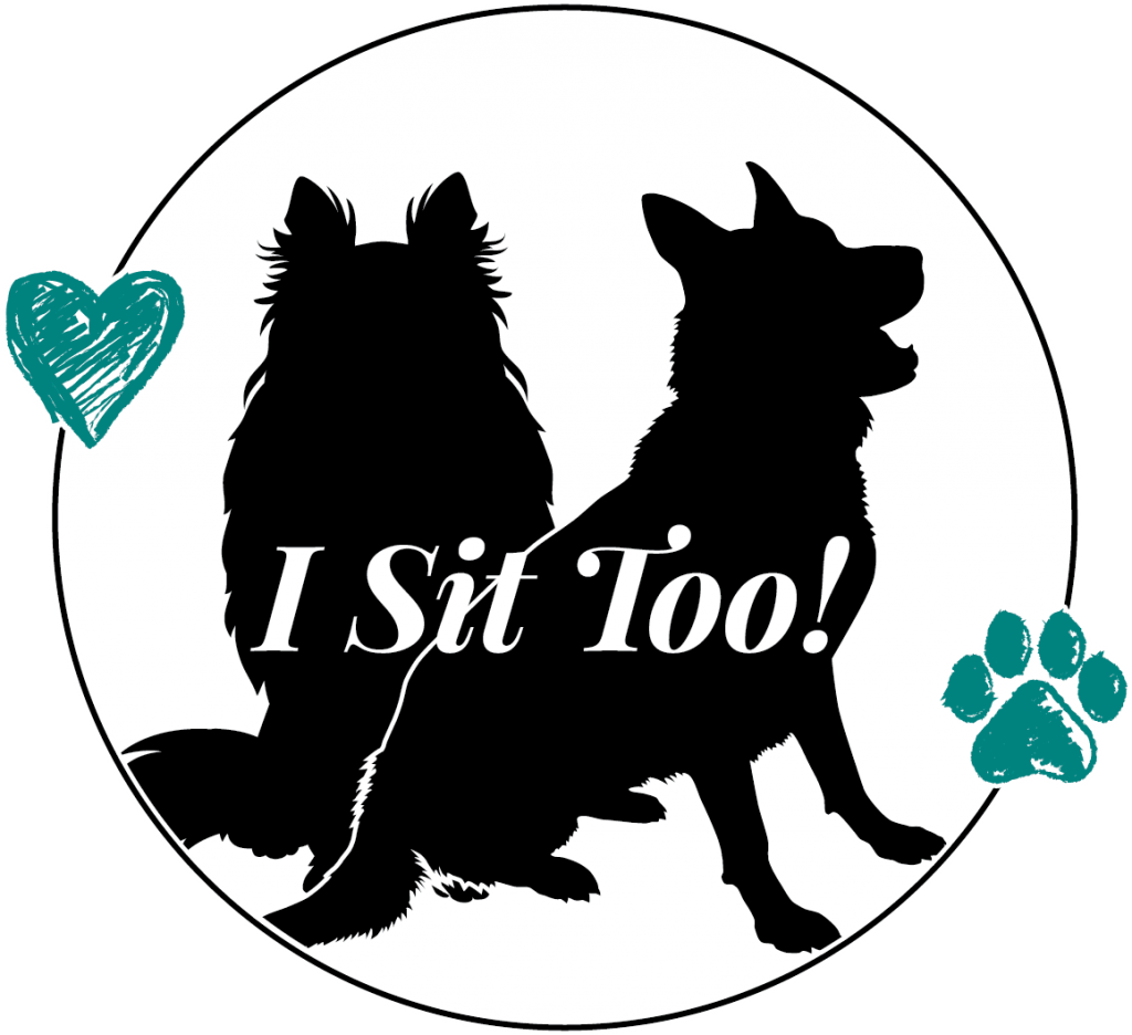 I Sit Too! Pet Sitting Logo