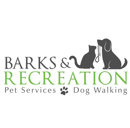 Barks and Recreation Pets Logo