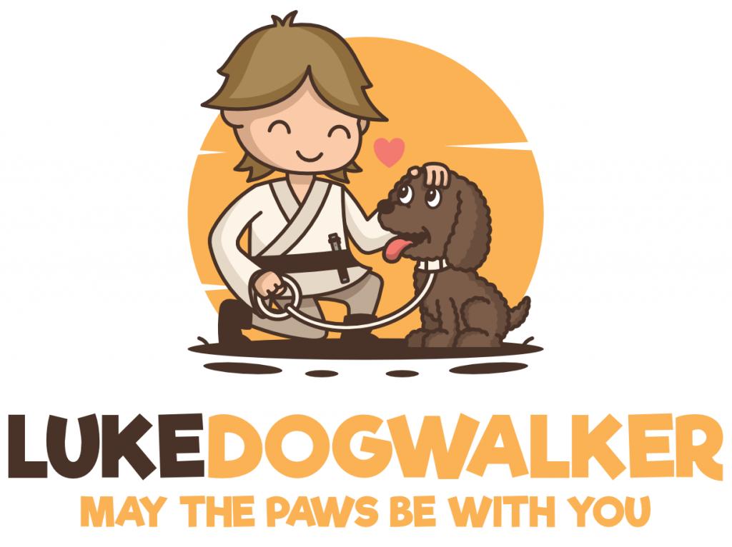 Luke DogWalker NYC Logo
