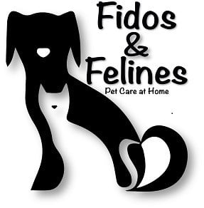 Fidos & Felines Pet Sitting Logo
