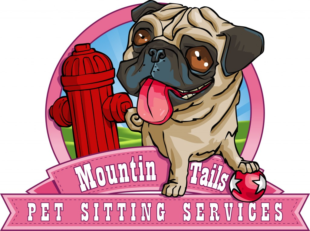 Mountin Tails Pet Sitting Services Logo
