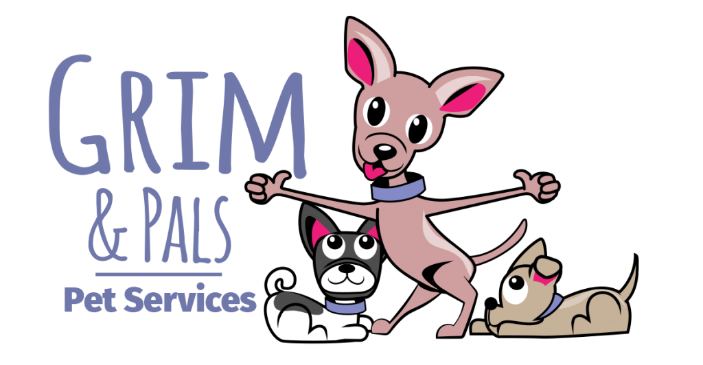Grim and Pals Pet Services Logo