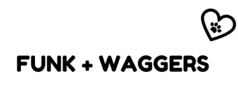 FUNK + WAGGERS - Love your pet. Logo
