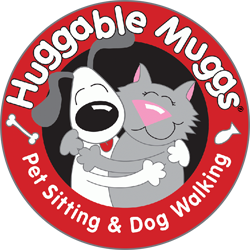 Huggable Muggs Pet Sitting & Dog Walking Logo