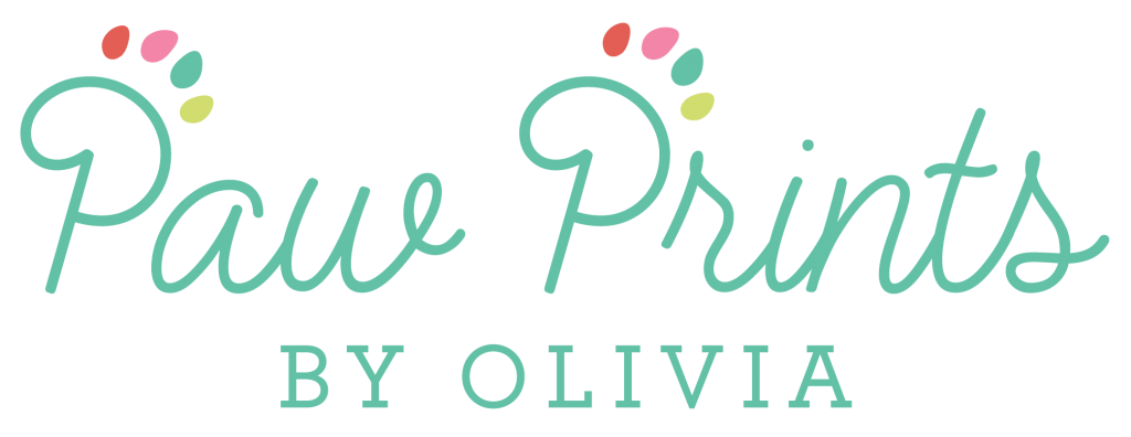 Paw Prints by Olivia  Logo