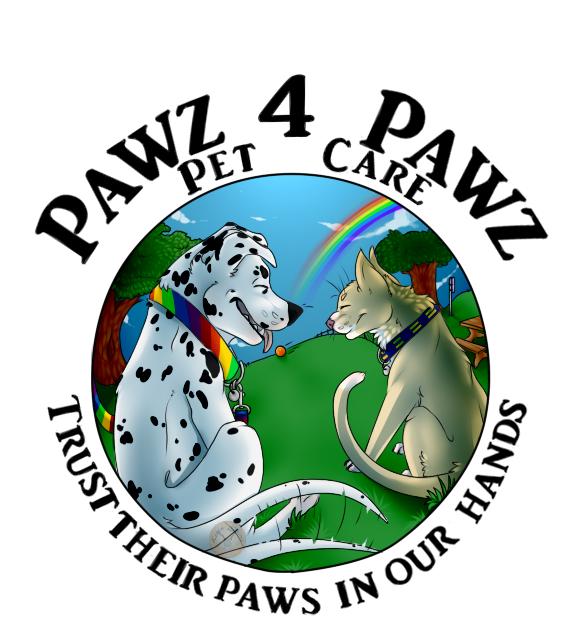 Pawz4Pawz Pet Care Logo