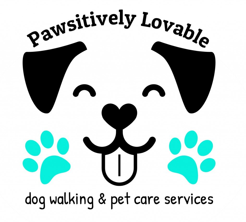 Pawsitively Lovable Logo