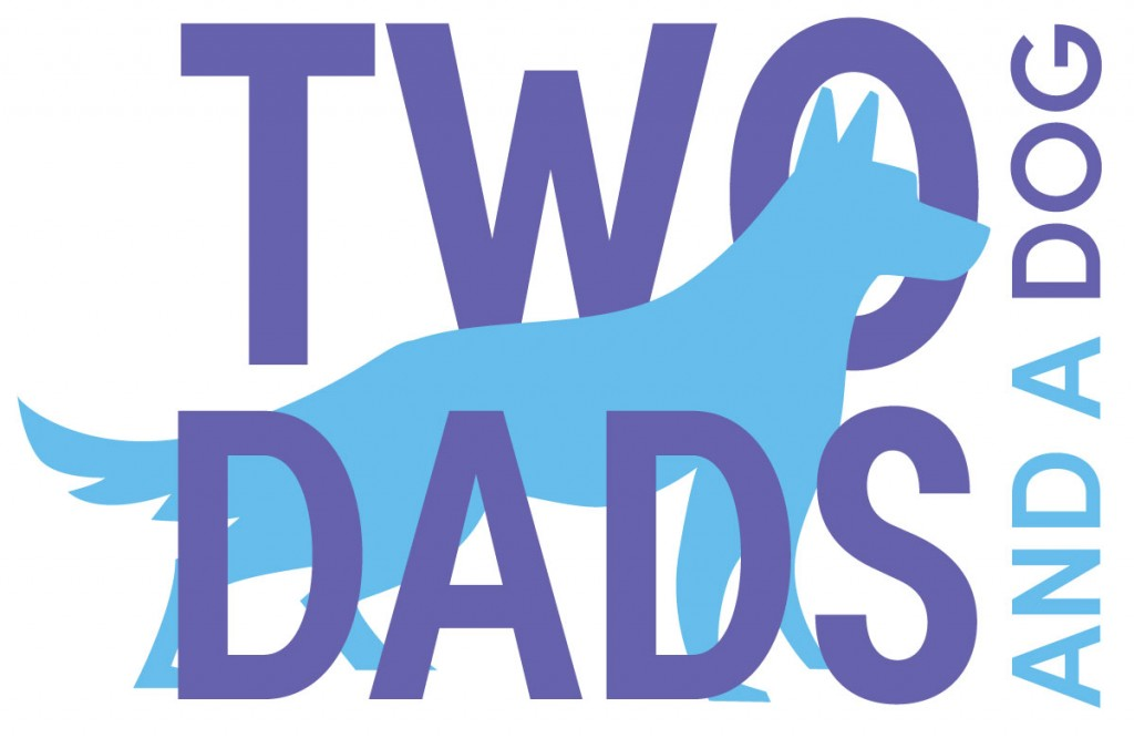 Two Dads and a Dog LLC Logo