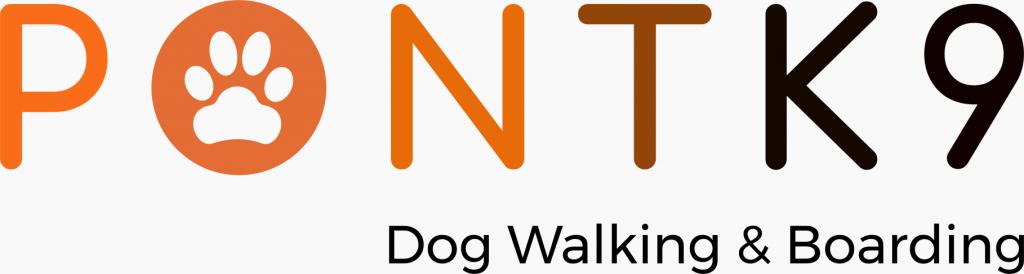PontK9 Dog Walking & Boarding Logo