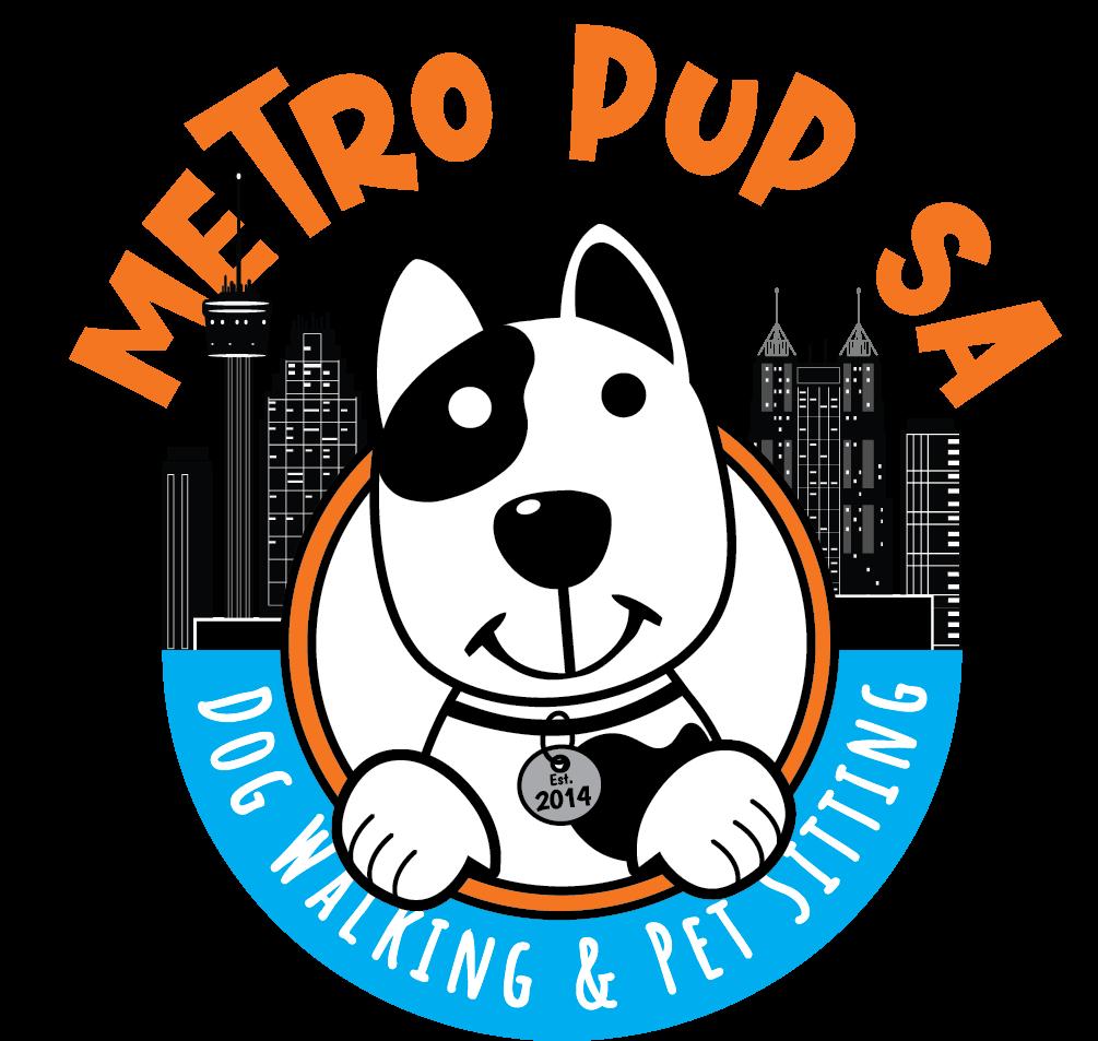 Metro Pup SA Dog Walking & Pet Sitting Logo