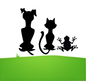 Dogs to Frogs Pet Sitting Logo