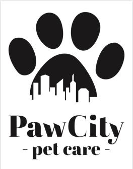 Paw City Pet Care Logo