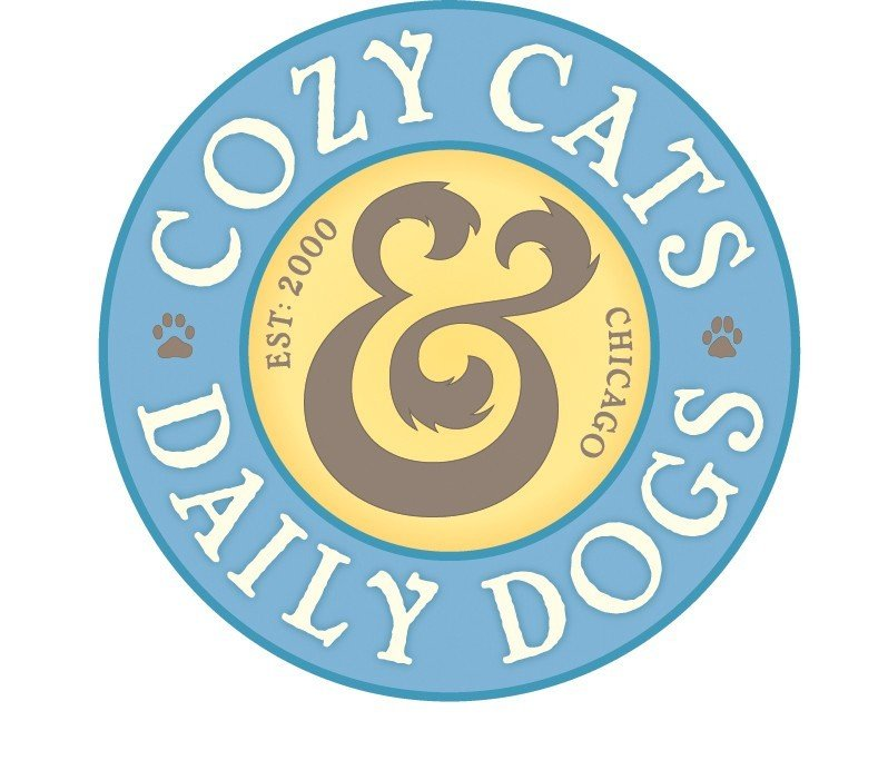 Cozy Cats and Daily Dogs  Logo