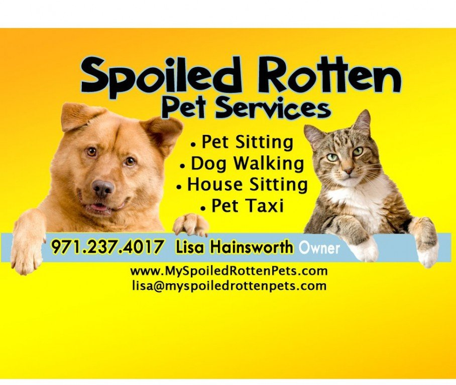 Spoiled Rotten Pet Services Logo