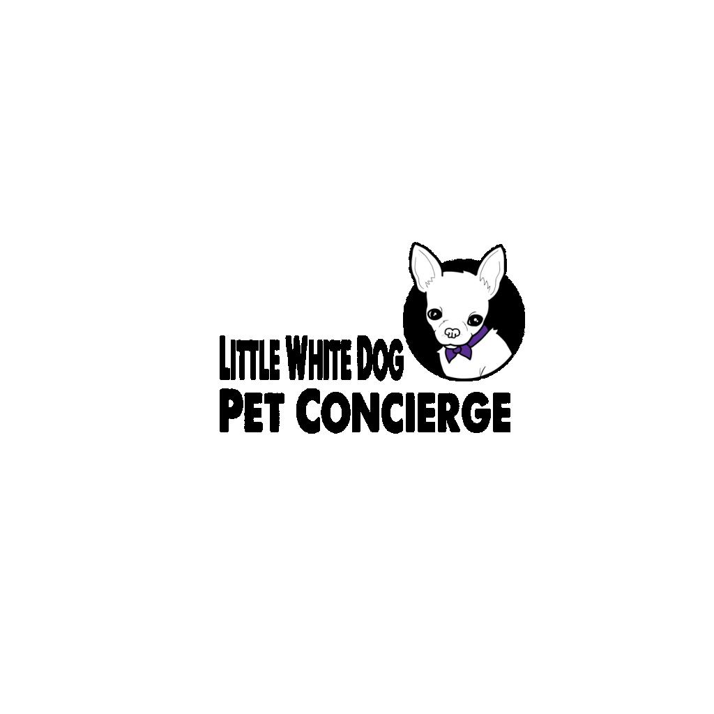 Little White Dog Co. Concierge Logo