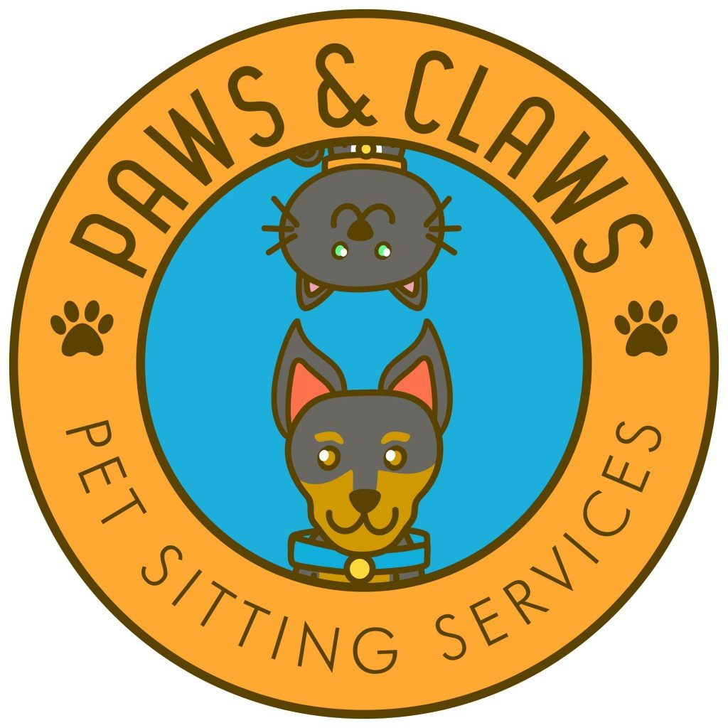 Paws & Claws Pet Sitting Services CT Logo
