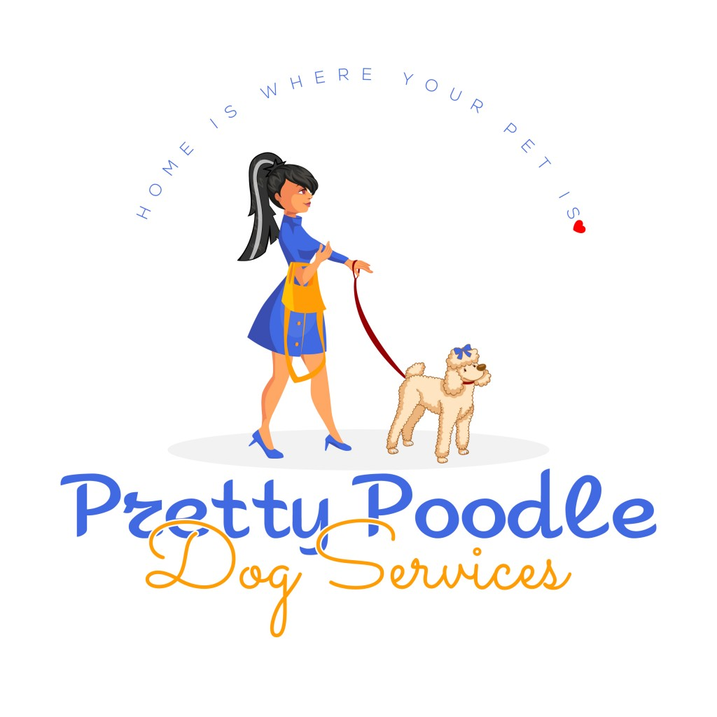 Pretty Poodle Dog Services Logo