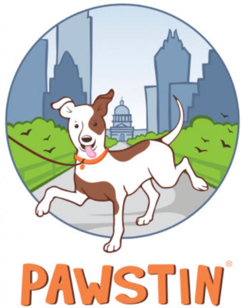 Pawstin Logo