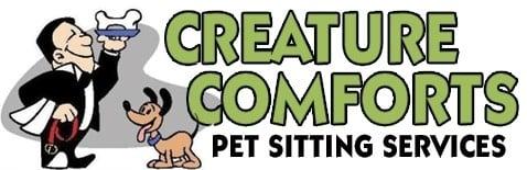Creature Comforts Pet Sitting Logo