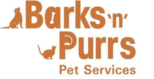 Barks N Purrs Pet Services Logo