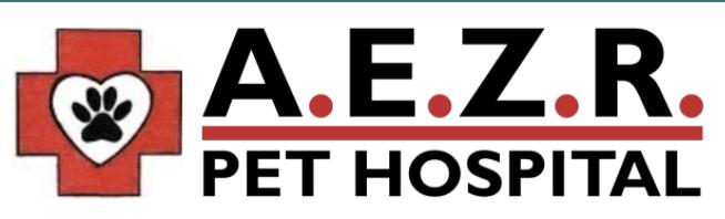 A.E.Z.R. PET HOSPITAL Logo