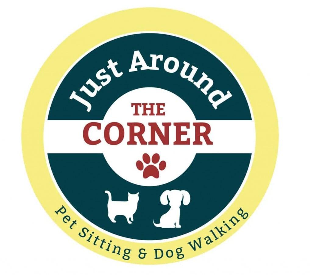 Just Around the Corner  Logo