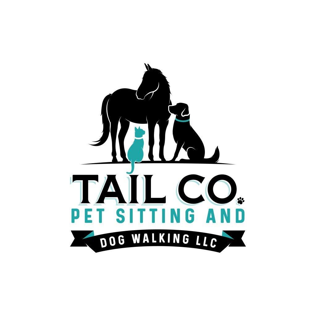 Tail Co. Pet Sitting and Dog Walking LLC Logo