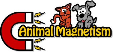 Animal Magnetism Pet Professionals Logo
