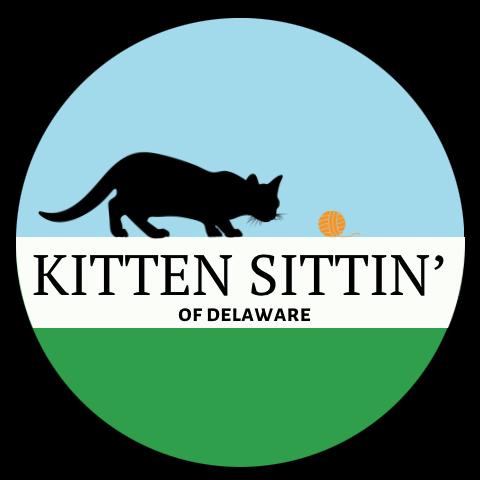 Kitten Sittin' of Delaware Logo