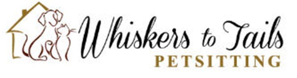 Whiskers to Tails Petsitting Logo