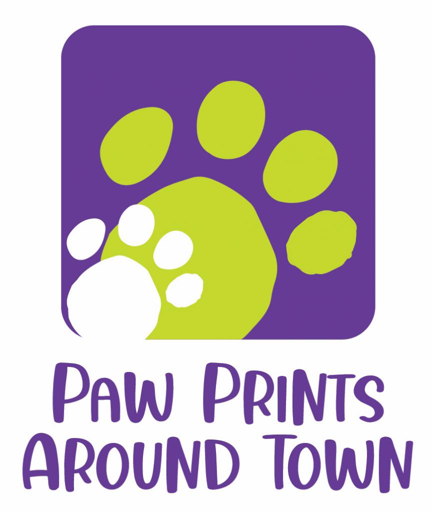 Paw Prints Around Town LLC Logo
